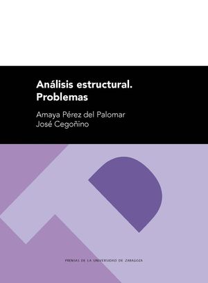 ANÁLISIS ESTRUCTURAL. PROBLEMAS