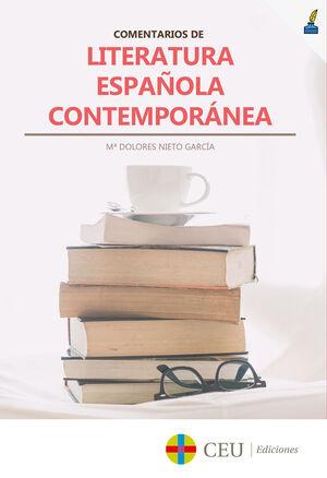 COMENTARIOS DE LITERATURA ESPAÑOLA CONTEMPORÁNEA