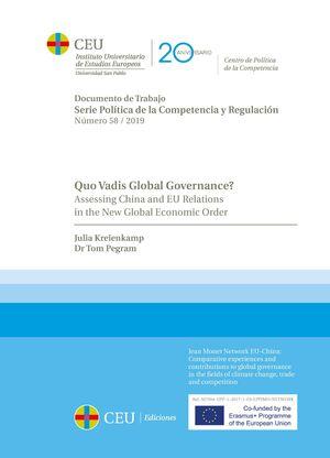 QUO VADIS GLOBAL GOVERNANCE?