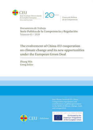 THE EVOLVEMENT OF CHINA-EU COOPERATION ON CLIMATE CHANGE AND ITS NEW OPPORTUNITIES UNDER THE EUROPEAN GREEN DEAL