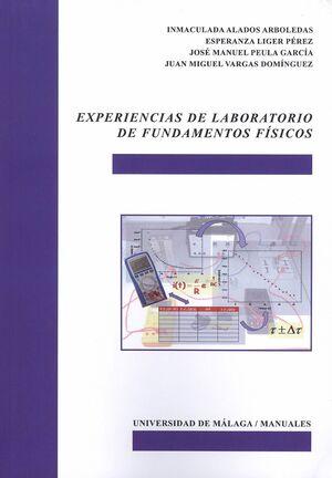 EXPERIENCIAS DE LABORATORIO DE FUNDAMENTOS FÍSICOS