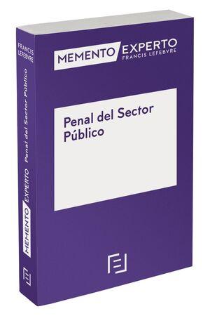 MEMENTO EXPERTO PENAL DEL SECTOR PÚBLICO