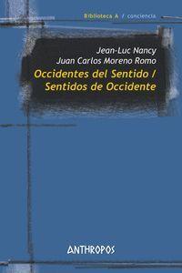 OCCIDENTES DEL SENTIDO, SENTIDOS DE OCCIDENTE