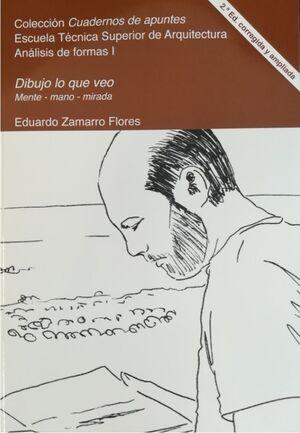 DIBUJO LO QUE VEO (2ª EDICIÓN CORREGIDA Y AMPLIADA)