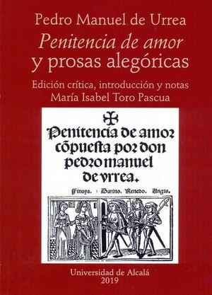 PENITENCIA DE AMOR Y PROSAS ALEGÓRICAS