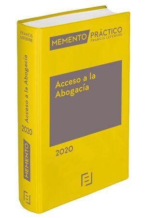 MEMENTO ACCESO A LA ABOGACÍA 2020