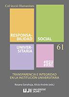 TRANSPARENCIA E INTEGRIDAD EN LA INSTITUCIÓN UNIVERSITARIA