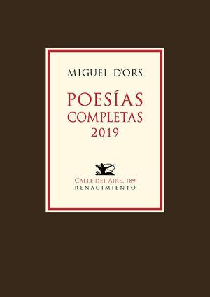 POESÍAS COMPLETAS 2019