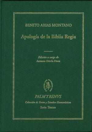 APOLOGÍA DE LA BIBLIA REGIA