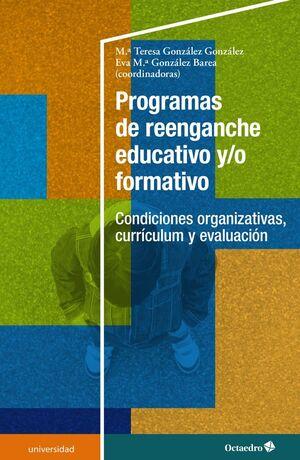 PROGRAMAS DE REENGANCHE EDUCATIVO Y/O FORMATIVO