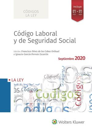 CÓDIGO LABORAL Y DE SEGURIDAD SOCIAL 2020