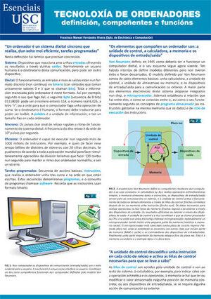 TECNOLOXÍA DE ORDENADORES