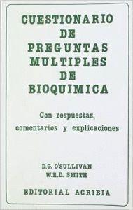 CUESTIONARIO DE PREGUNTAS MÚLTIPLES DE BIOQUÍMICA