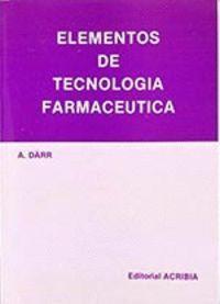 ELEMENTOS DE TECNOLOGÍA FARMACÉUTICA