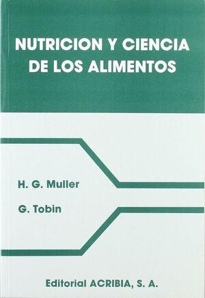 NUTRICIÓN Y CIENCIA DE LOS ALIMENTOS