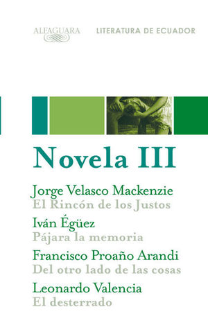 NOVELA 3. LITERATURA DE ECUADOR