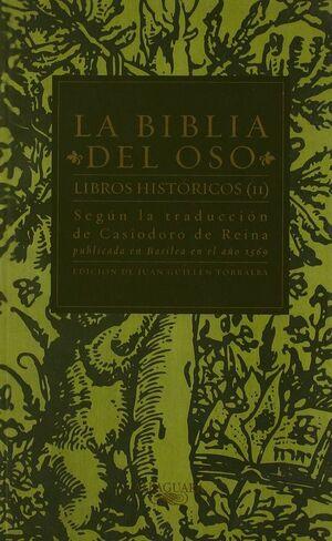 LA BIBLIA DEL OSO. LIBROS HISTÓRICOS (II)