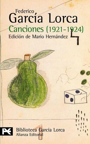 CANCIONES, 1921-1924