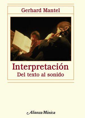 INTERPRETACIÓN DEL TEXTO AL SONIDO