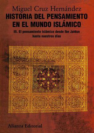 HISTORIA DEL PENSAMIENTO EN EL MUNDO ISLÁMICO, III