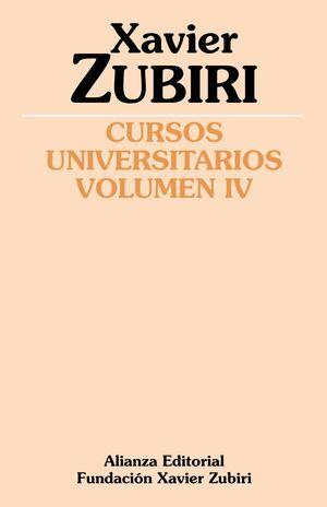 CURSOS UNIVERSITARIOS. VOLUMEN IV (1934-1935)