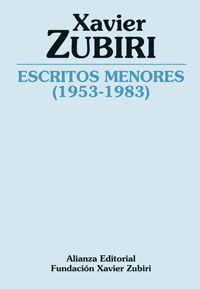 ESCRITOS MENORES (1953-1983)