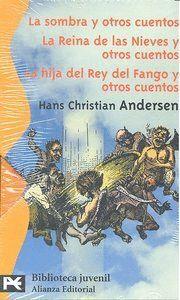 ESTUCHE - HANS CHRISTIAN ANDERSEN LA SOMBRA Y OTROS CUENTOS - LA REINA DE LAS NIEVESY OTROS CUENTOS