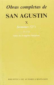 OBRAS COMPLETAS DE SAN AGUSTÍN. X: SERMONES (2.º): 51-116: SOBRE LOS EVANGELIOS SINÓPTICOS