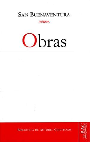 OBRAS DE SAN BUENAVENTURA