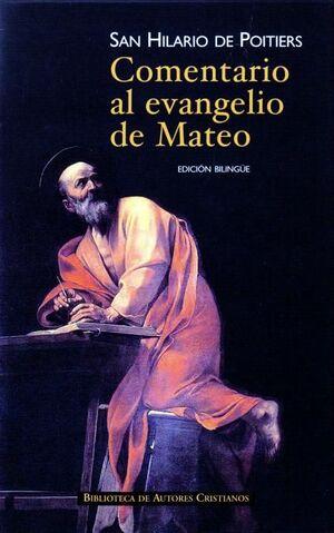 COMENTARIO AL EVANGELIO DE SAN MATEO