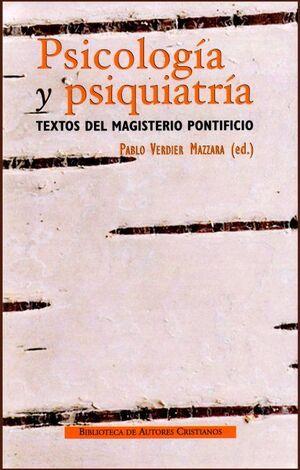 PSICOLOGÍA Y PSIQUIATRÍA.