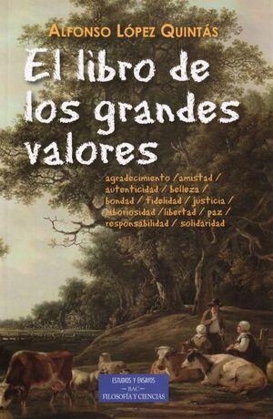 EL LIBRO DE LOS GRANDES VALORES