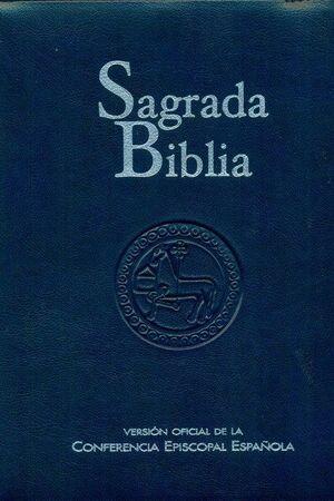 SAGRADA BIBLIA. VERSIÓN OFICIAL DE LA CONFERENCIA EPISCOPAL ESPAÑOLA (ED. POPULAR - ESTUCHE SÍMIL PIEL CREMALLERA)