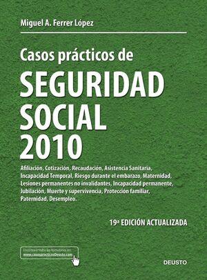 CASOS PRÁCTICOS DE SEGURIDAD SOCIAL 2010