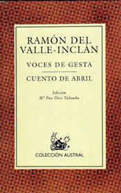 VOCES DE GESTA / CUENTO DE ABRIL