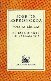 PROSA LITERARIA Y POLÍTICA / POESÍA LÍRICA / EL ESTUDIANTE DE SALAMANCA / EL DIA