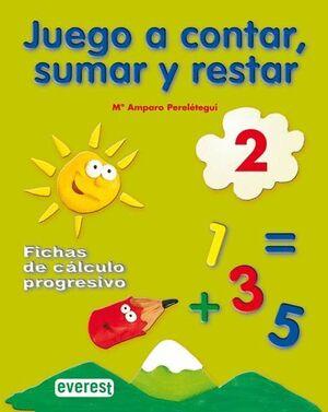 JUEGO A CONTAR, SUMAR Y RESTAR 2. FICHAS DE CÁLCULO PROGRESIVO