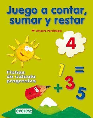 JUEGO A CONTAR, SUMAR Y RESTAR 4. FICHAS DE CÁLCULO PROGRESIVO