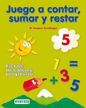 JUEGO A CONTAR, SUMAR Y RESTAR 5. FICHAS DE CÁLCULO PROGRESIVO