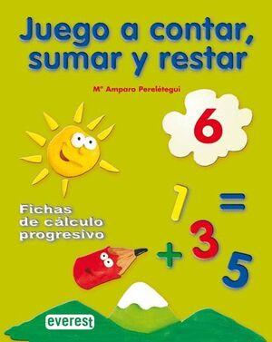 JUEGO A CONTAR, SUMAR Y RESTAR 6. FICHAS DE CÁLCULO PROGRESIVO