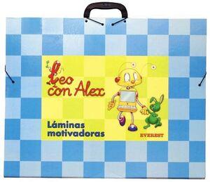 LEO CON ÁLEX. LÁMINAS MOTIVADORAS