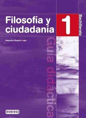 FILOSOFIA 1ºBACHILLERATO. GUIA DIDACTICA