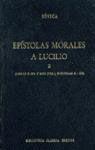 EPISTOLAS MORALES A LUCILIO VOL. 2 (LIBR