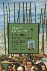 HISTORIA DE LA ESPAÑA MODERNA