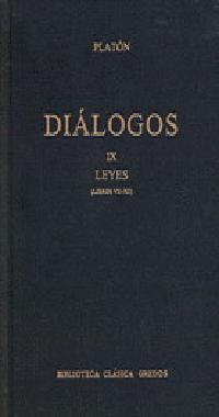 DIALOGOS VOL. 9 LEYES (LIBROS VII-XII)