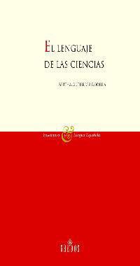 LENGUAJE DE LAS CIENCIAS