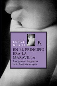 EN EL PRINCIPIO ERA LA MARAVILLA