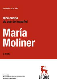 DICCIONARIO DE USO DEL ESPAÑOL (DVD 3.0)