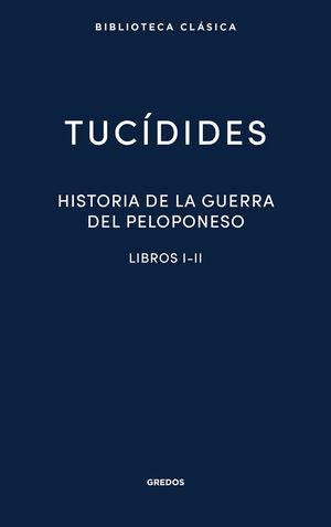 HISTORIA DE LA GUERRA DEL PELOPONESO I-II