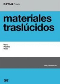 MATERIALES TRASLÚCIDOS VIDRIO, PLÁSTICO, METAL
